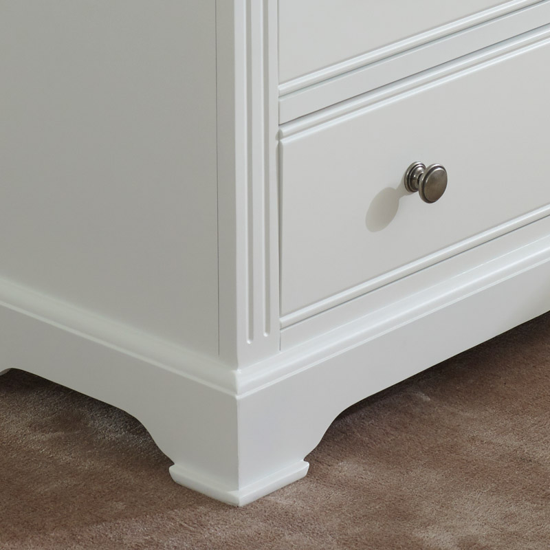 White Chest of Drawers - Davenport White Range