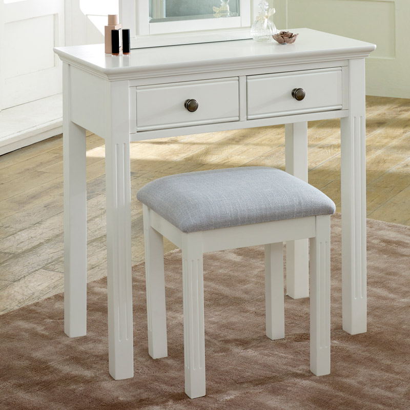 White Console / Dressing Table - Davenport White Range