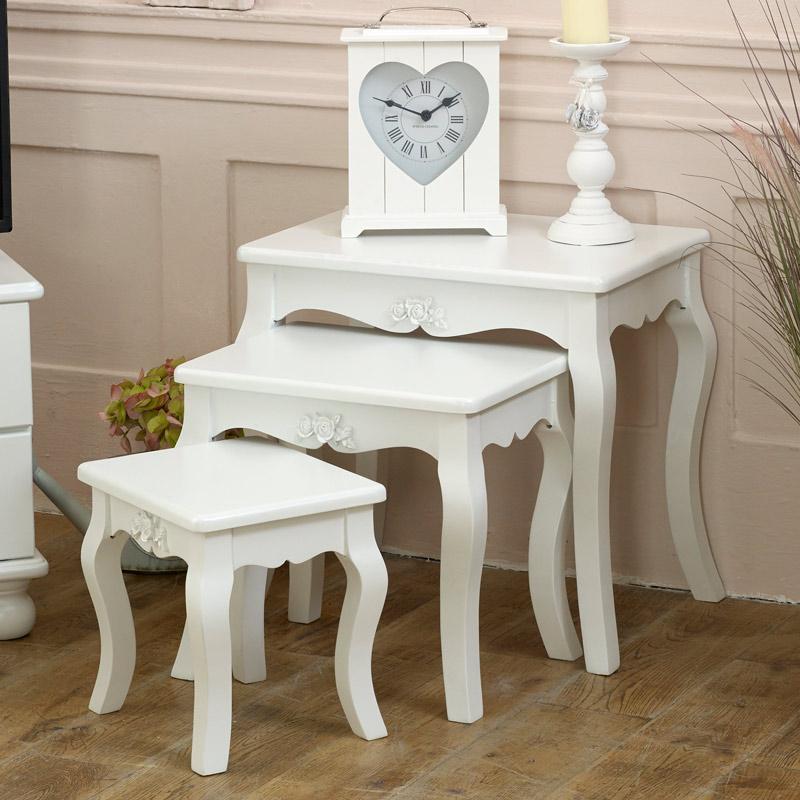 White Nest of Tables - Lila Range