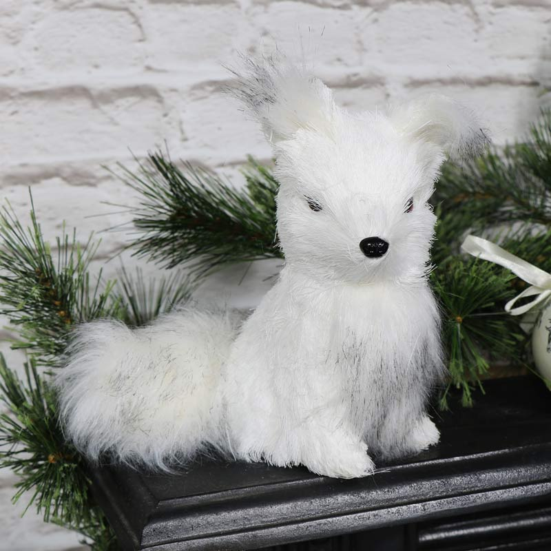 Winter White Fox