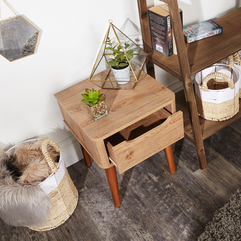 Wooden Bedside Table / Side Table