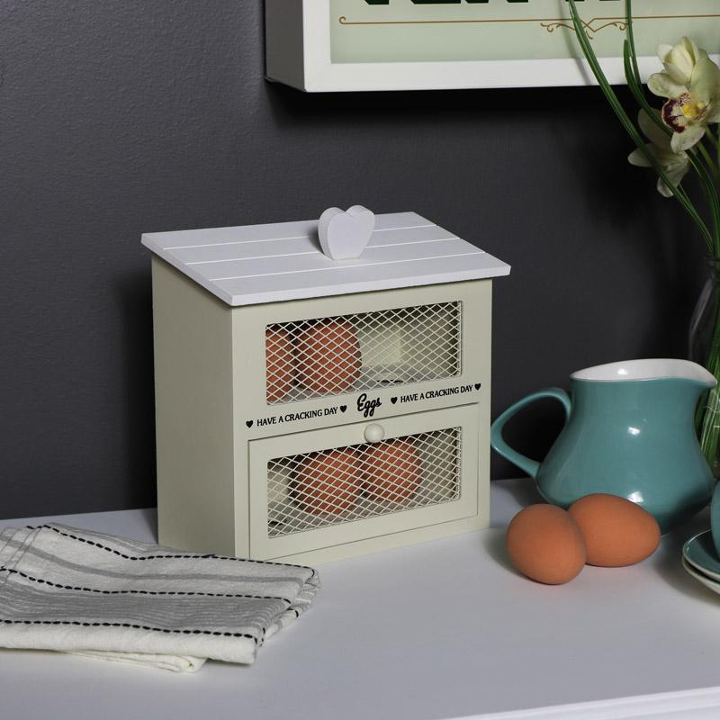 Wooden Egg Box Cabinet