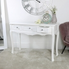 3 Drawer Console/Dressing Table - Victoria Range