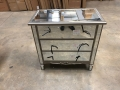 3 Drawer Mirrored Chest of Drawers  - Tiffany Range - IMPERFECT SECOND 9119