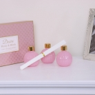 Set of 3 Pink Decorative Diffusers