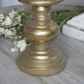Antique Gold Candle Stand