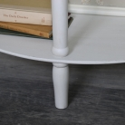 Antique White Half Moon Console Table – Mia Range
