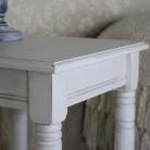 Antique White Square Side Table – Mia Range