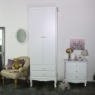 Lila Range - Furniture Bundle, Dressing Table Set, Pair of Beside Tables, Wardrobe and a Chest