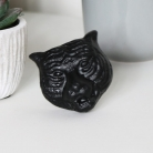 Black Tiger Head Drawer Knob