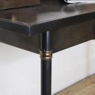 Black Vintage Metal Desk