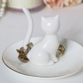 Cat Jewellery Holder Trinket Dish