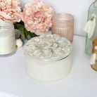 Ceramic Flower Petal Jewellery Box