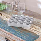 Concrete Egg Holder Tray