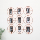 Copper Multi Frame Photo Display