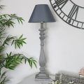 Curved Table Lamp - Grey