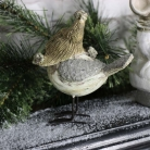Cute Little Christmas Bird Ornament