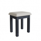 Dark Grey Dressing Table Stool - Brooklyn Range