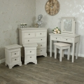 Daventry Range - Furniture Bundle, Chest Of Drawers, Dressing Table Set and Pair of Bedsides