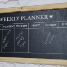 Days of the Week Chalk Board