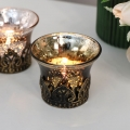 Decorative Glass Tealight Holders