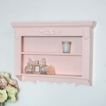 Decorative Pink Wall Shelves