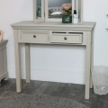 Grey Dressing Table & Mirror Set - Daventry Taupe-Grey Range