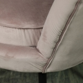 Dusky Pink Velvet Chair