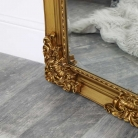Extra, Extra Large Ornate Antique Gold Full Length Wall/Floor Mirror 85cm x 210cm