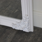 Extra, Extra Large Ornate White Full Length Wall/Floor Mirror 85cm x 210cm