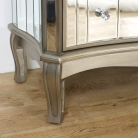 Extra Large Mirrored Chest of Drawers - Tiffany Range - DAMAGED SECOND 3671