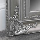 Extra Large Ornate Silver Wall / Floor / Leaner Full Length Mirror 100cm x 200cm