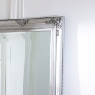 Extra Large Ornate Silver Wall/Leaner Mirror
