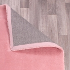 Extra Large Pink Shaggy Rug 150cm x 200cm