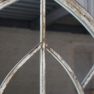 Extra Large Rustic Arched Window Mirror 67cm x 159cm
