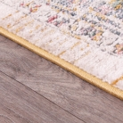 Extra Large Traditional Rug in Gold and Cream 160cm x 220cm