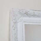 Extra Large Ornate Wall/Floor White Mirror 158cm x 78cm