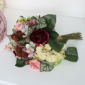 Faux Country Bramble Rose Bouquet