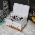 Festive Christmas Eve Wooden Gift Box