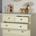Five Drawer Chest of Drawers - Elise Cream Range