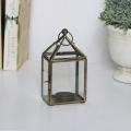 Gold Lantern Tealight Holder