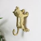 Gold Lion Wall Hook