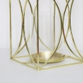 Gold Metal Candle Holder