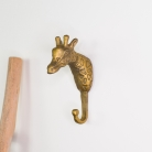 Gold Metal Giraffe Wall Hook