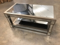 Gold Mirrored Coffee Table - Deco Range - IMPERFECT SECOND 2211
