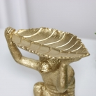 Gold Monkey Leaf Trinket Dish