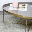 Gold & Purple Coffee Table