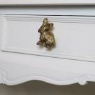 Gold Rabbit Drawer Knob