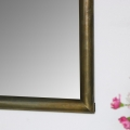 Gold Square Wall Mirror