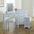 Grey Bedroom Furniture Set - Davenport Grey Range